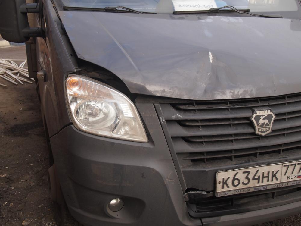 Кузовной ремонт и покраска капота Газели